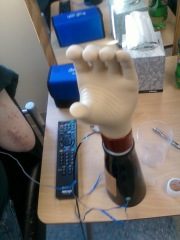 my new hand